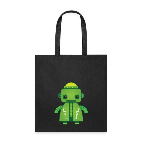 Green Tote Bag Green Robot - Tote Bag