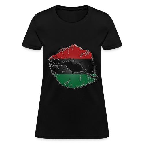 African lips  - Women's T-Shirt
