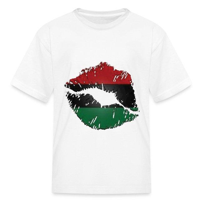 African lips kids shirt