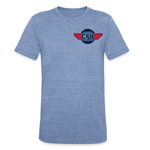 cfb_logo_color - Unisex Tri-Blend T-Shirt by American Apparel