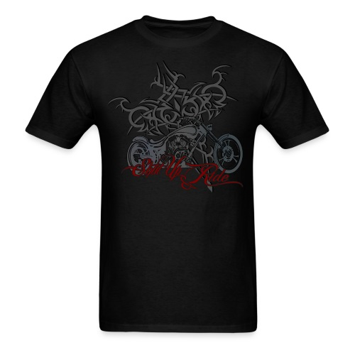 Chopper Rider Attitude - Men's T-Shirt