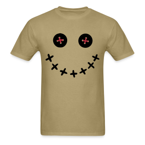 Voodoo Doll Smiley Face Shirt - Men's T-Shirt