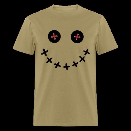 Voodoo Doll Smiley Face Shirt - Men's T-Shirt