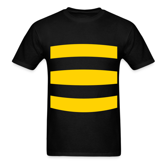 Mens Bumble Bee Costume  Shirt
