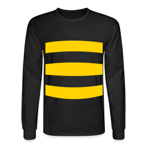 Long Sleeved Bumble Bee Costume  Shirt - Men's Long Sleeve T-Shirt