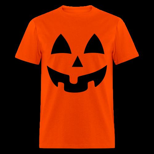 Halloween Jack-O-Lantern Pumpkin Face Shirt Costume - Men's T-Shirt