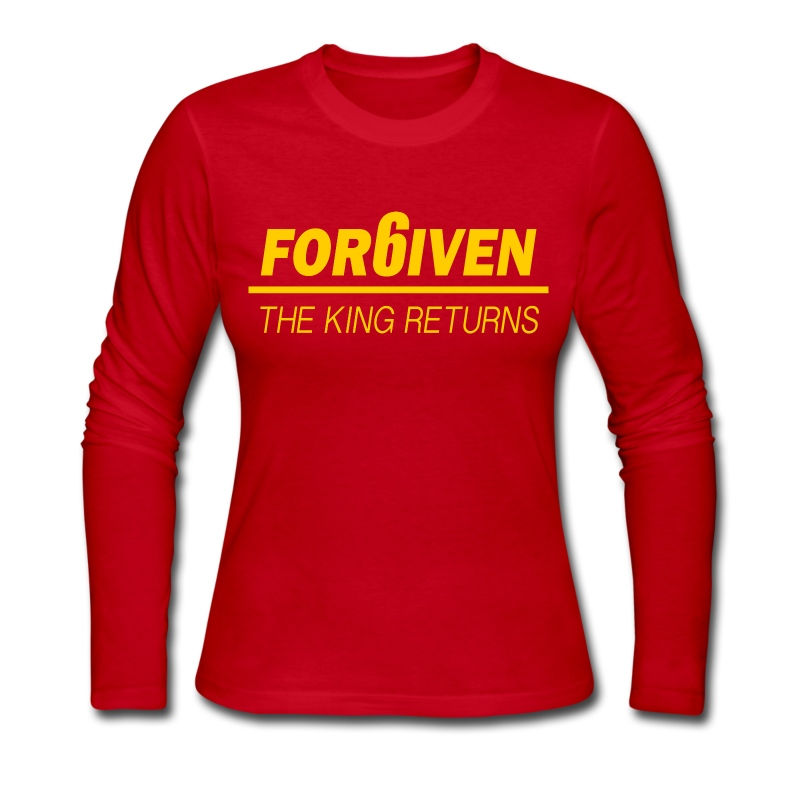 For6iven Lebron Design - Women's Long Sleeve Jersey T-Shirt