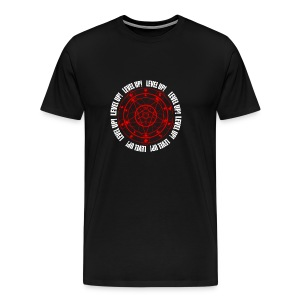 LUCIUS LEVEL UP RED  - Men's Premium T-Shirt