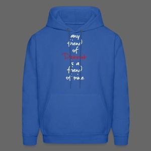 Friend of Detroit  - Men's Hoodie