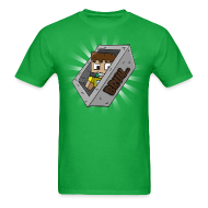 T-Shirts ~ Men's T-Shirt ~ Bruh Cart Green