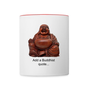 Laughing Buddha Coffee Mug - Contrast Coffee Mug