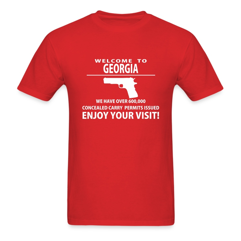 Welcome To Georgia T Shirt Spreadshirt