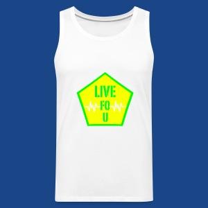LIVE FO U MEN TANK BY RONALD RENEE - Men's Premium Tank