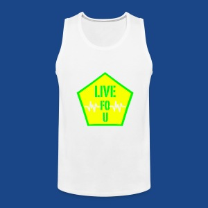 LIVE FO U MEN TANK BY RONALD RENEE - Men's Premium Tank