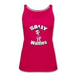Sally Waffles - Women's Premium Tank Top