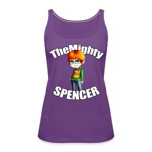 The Mighty Spencer - Women's Premium Tank Top