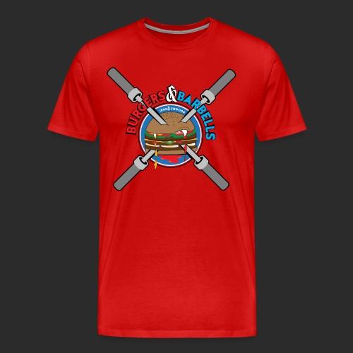 IRON&EMOTION's BURGERS & BARBELLS - Men's Premium T-Shirt