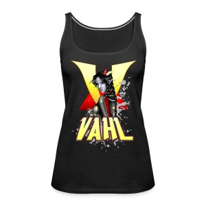 Vahl V - Soft Shaded - Women's Premium Tank Top