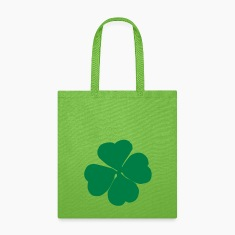 Cloverleaf, 4-leaf clover Bags & backpacks