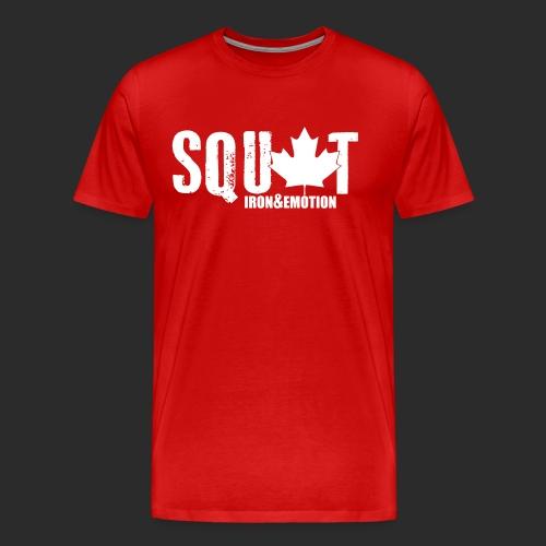 IRON&EMOTION's CANADIAN SQUAT - Men's Premium T-Shirt
