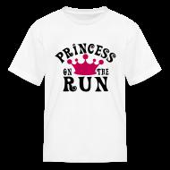 Kids' Shirts ~ Kids' T-Shirt ~ Princess on the run