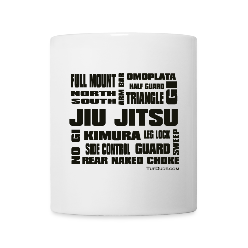 Jiu Jitsu Terminology Coffee Mug - Coffee/Tea Mug