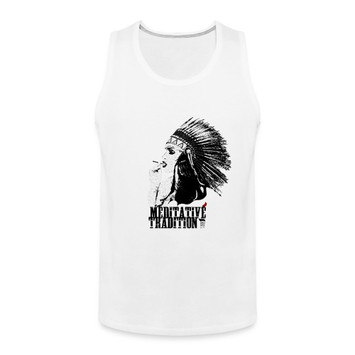 Cashmerian Gold - Tradition Tank (White) - Men's Premium Tank