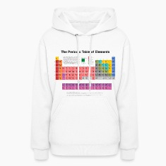 Periodic Table of Elements (PTE) dark Hoodies