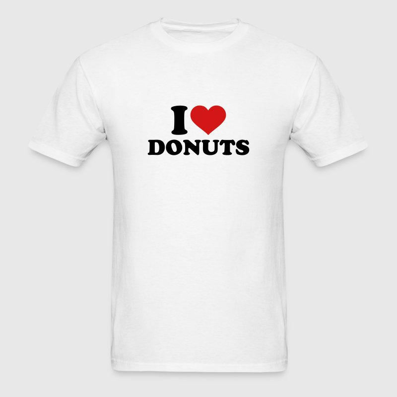 I love Donuts T-Shirts - Men's T-Shirt
