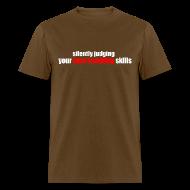 T-Shirts ~ Men's T-Shirt ~ Silently Judging