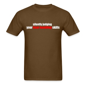 Silently Judging - Men's T-Shirt