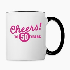 Cheers 50 birthday Bottles & Mugs