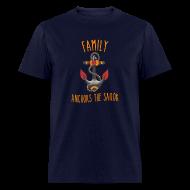 T-Shirts ~ Men's T-Shirt ~ Family Anchors the Sailor-Men