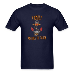 Family Anchors the Sailor-Men - Men's T-Shirt