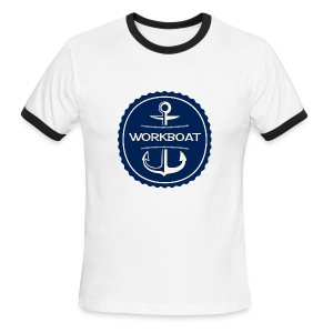 Classic Workboat Wear Logo Ringer Tee - Men's Ringer T-Shirt