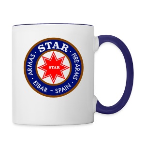 Star Logo coffee mug - Contrast Coffee Mug