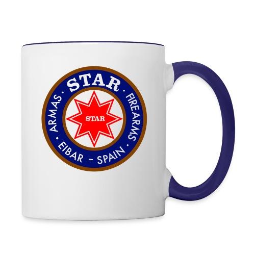 Star Logo coffee mug - Contrast Coffee Mug