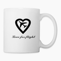 Love for Flight Bottles & Mugs