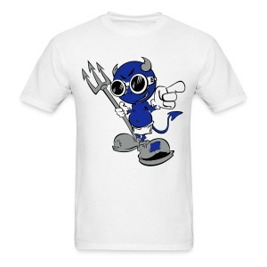 Cartoon Devil (2) - Men's T-Shirt
