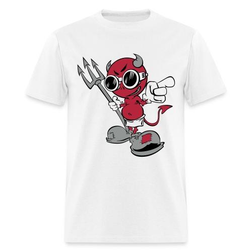 Cartoon Devil (3) - Men's T-Shirt