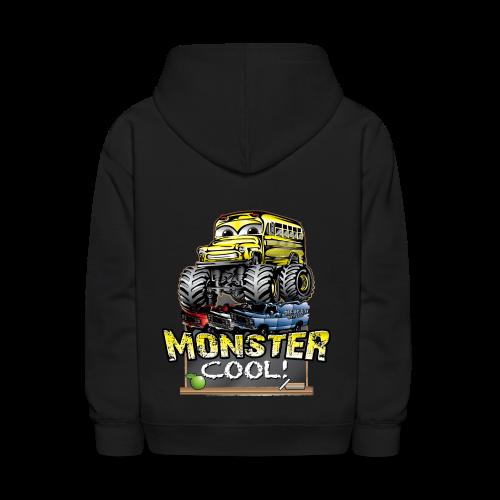 Monster Cool Bus - Kids' Hoodie