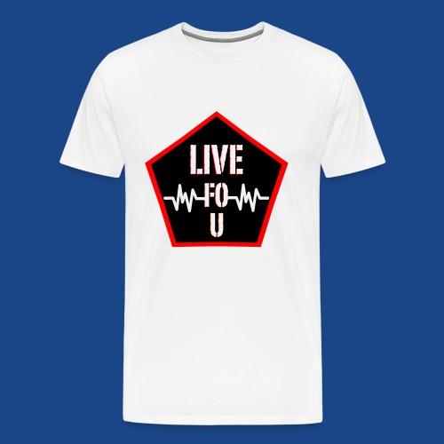 LIVE FO U BY RONALD RENEE - Men's Premium T-Shirt