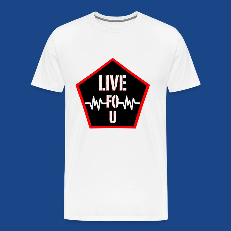 LIVE FO U BY RONALD RENEE - Men's Premium T-Shirt