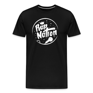 Black Rap Nation T-Shirt - Men's Premium T-Shirt