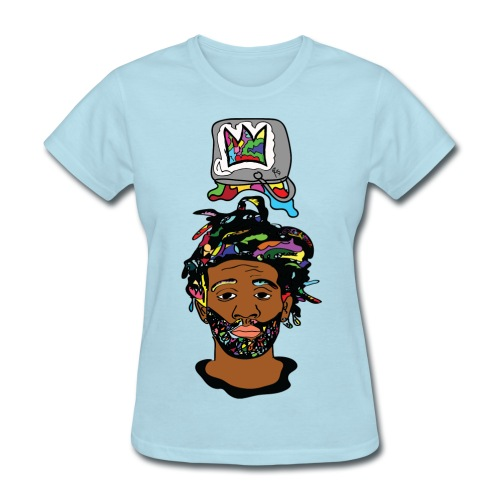 Paint Bucket Crown Women T-shirt - Women's T-Shirt