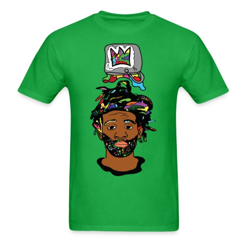 Paint Bucket Crown Mens T-Shirt - Men's T-Shirt