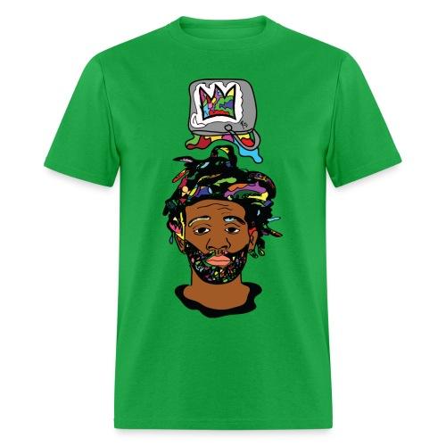 Paint Bucket Crown Mens T-Shirt - Men's T-Shirt