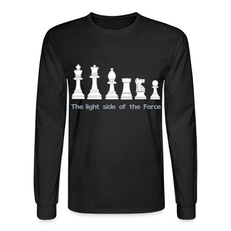 The light side of the force chess pawns t shirt for Design your own t shirt uk cheap