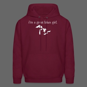 I'm A Great Lakes Girl  - Men's Hoodie