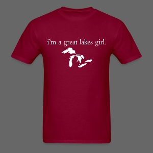 I'm A Great Lakes Girl  - Men's T-Shirt